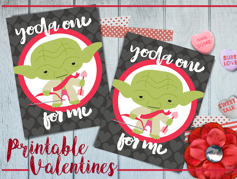 Printable Star Wars Valentine\u0027s Day Cards - Sippy Cup Mom