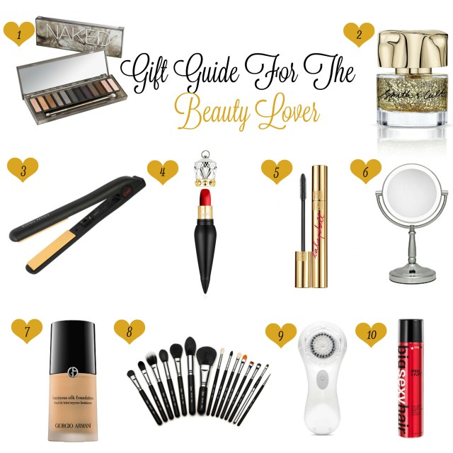 Beauty Lover Gift Guide For Blog