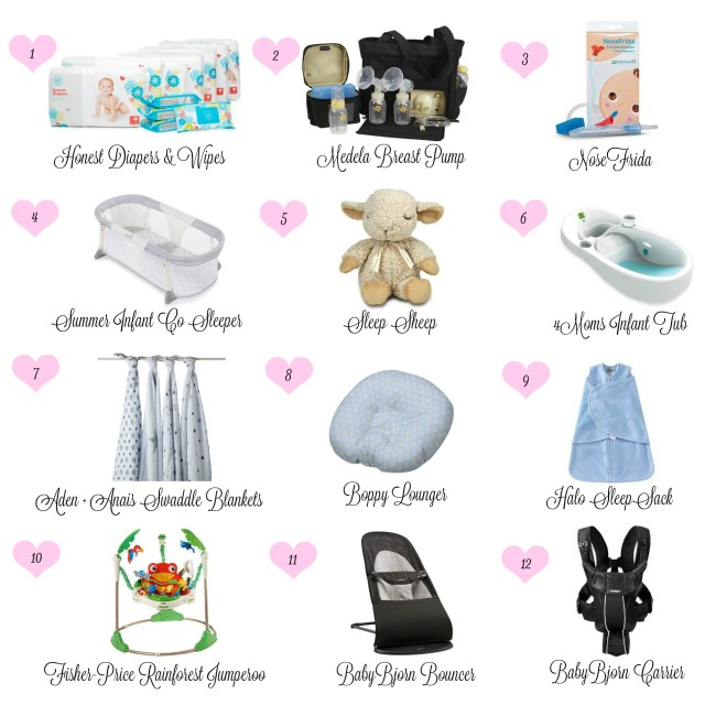 Blog Collage Baby Essentials