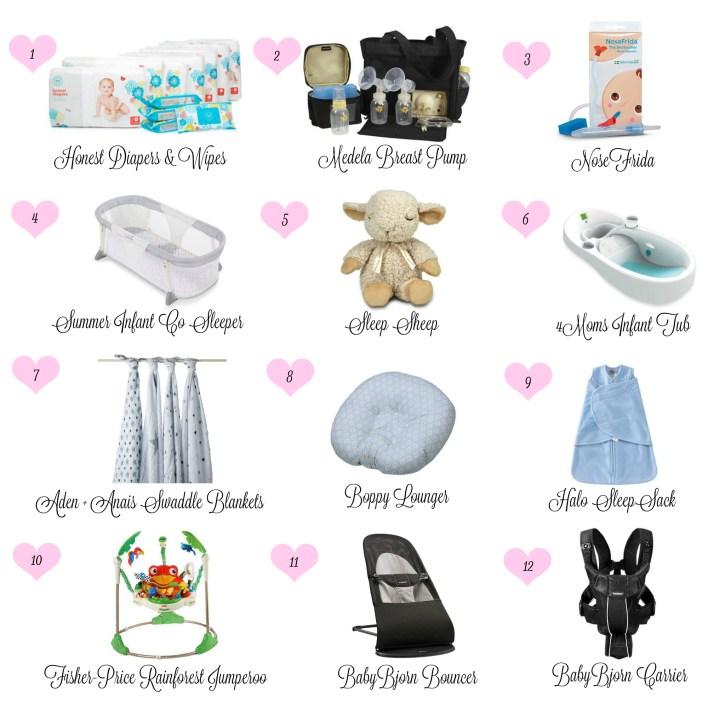 Blog Collage Baby Essentials