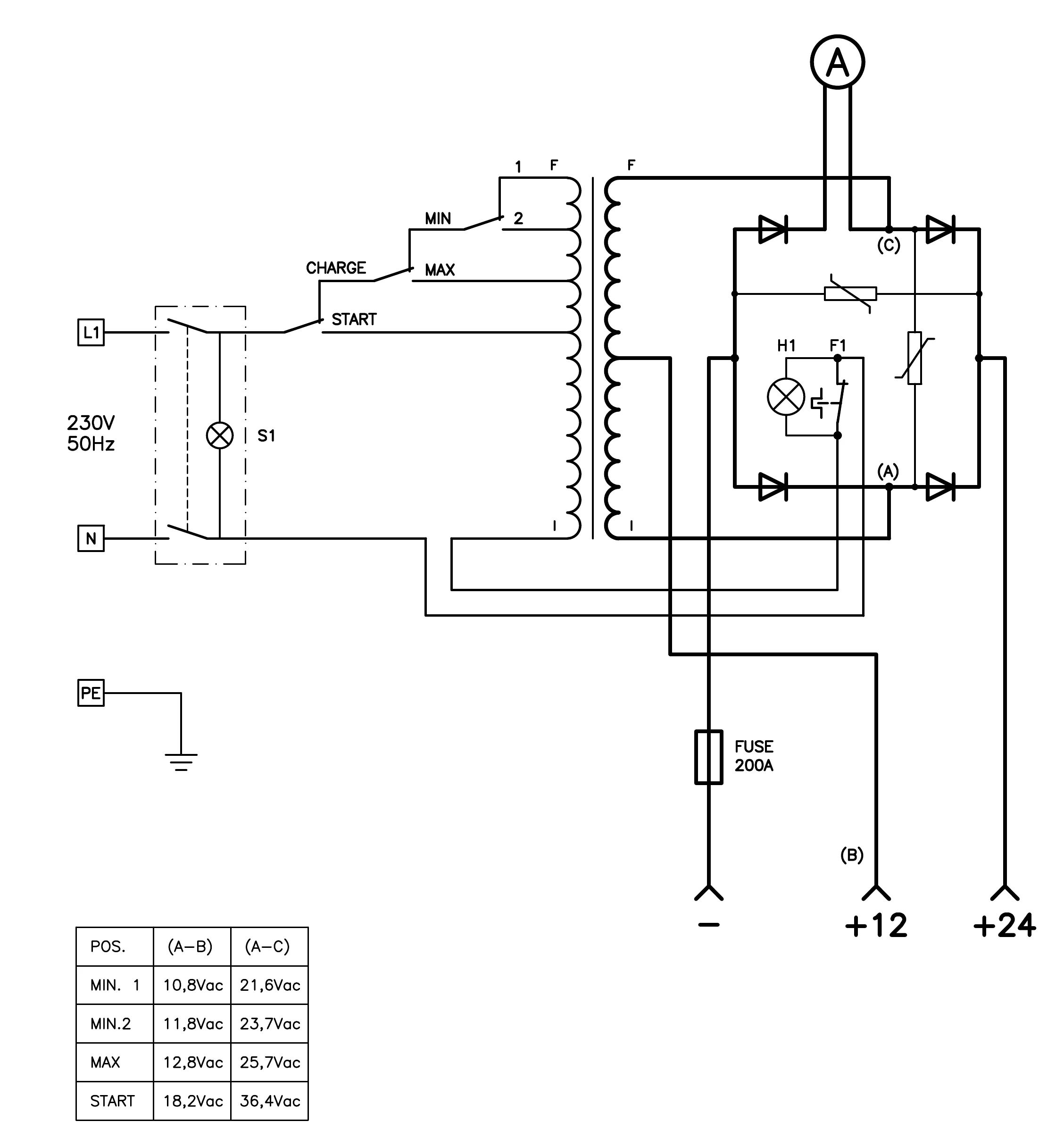 gas arc welder wiring diagram