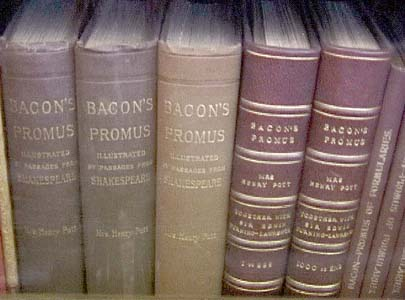 The Bibliographies/BaconLibrary