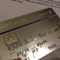 Y el Francés me mandó la tarjeta con chip