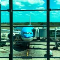 Volviendo de Santiago de Chile con KLM