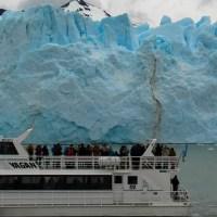 Navegación frente al Glaciar Perito Moreno