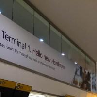 Cerraron la terminal 1 de Heathrow