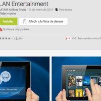 Las aplicaciones para tener entretenimiento a bordo de los aviones de LAN Argentina