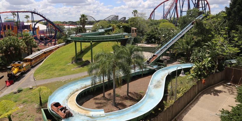 Conociendo Busch Gardens, cerca de Orlando