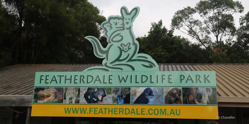 El parque de Featherdale cerca de Sidney