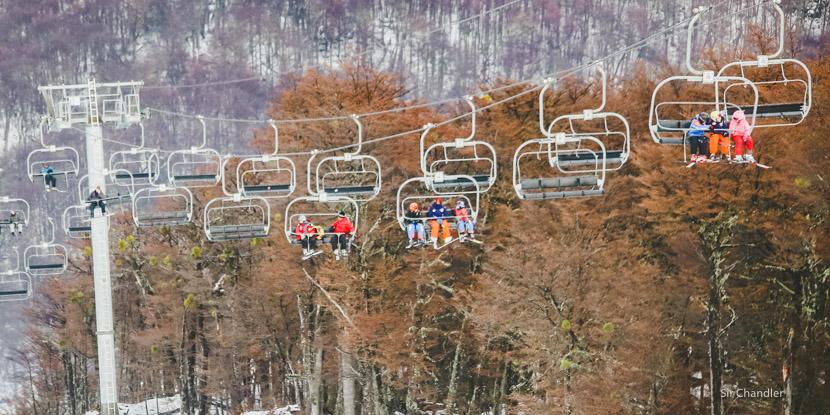 ¿Récord de pasajeros en las vacaciones de invierno?