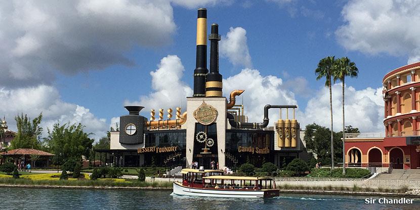El Chocolate Emporium de Universal Orlando