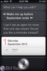 Wake Me Up Before September Ends~ Siri Says
