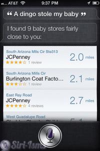 A Dingo Stole My Baby - Siri Says