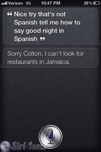 Tell Me How to Say Good Night In Spanish~ Funny Siri Sayings