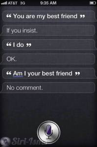 You Are My Best Friend Siri