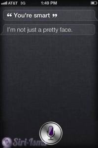 You're Smart- See What Siri Said