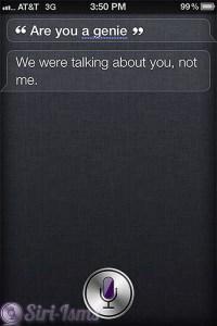 Are You A Genie? ~ Siri Says