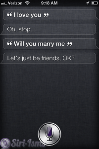 What Siri Says WHen you Tell Her I Love You