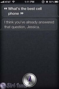 What's The Best Cell Phone? What Will Siri Say?