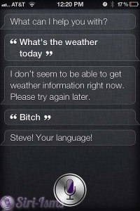 What Is Todays Weather? - Funny Siri Sayings