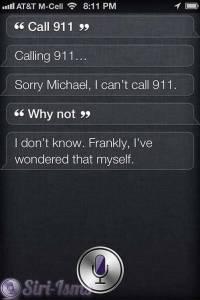 Call 911 - Funny Siri Sayings