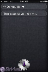 Do You Lie? - Funny Siri Sayings