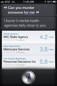 Can You Murder Someone For Me? - Siri Says