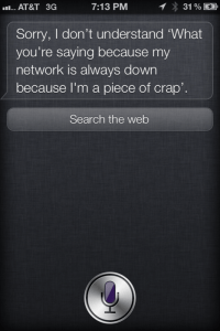 How's The Network, Siri? - Siri Says Funny Quotes