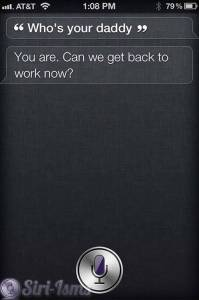 Who's Your Daddy- Funny Siri
