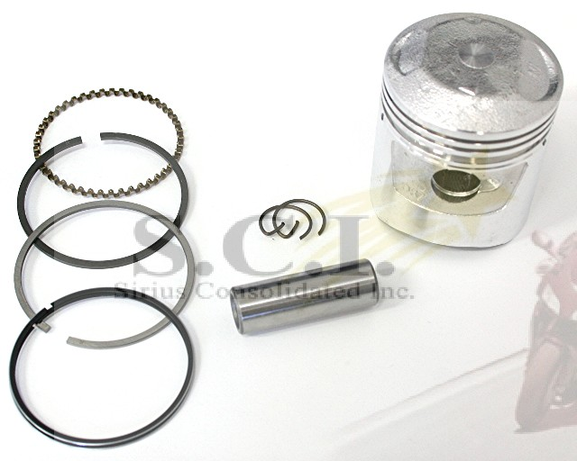 HONDA ATC90 S90 SL90 CT90 ST90 SECOND OVER 50 OVER PISTON RINGS