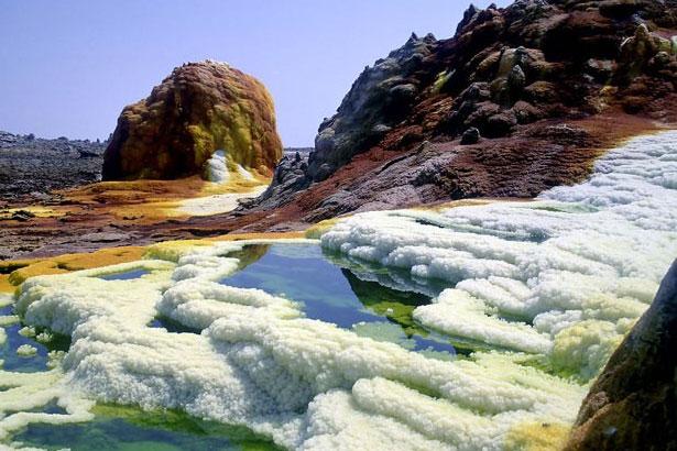 deserto de Lut, no sudeste do Irã