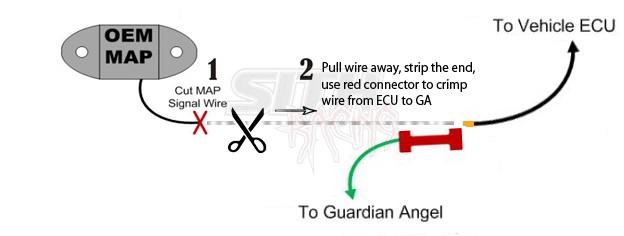Guardian Angel V3 Overboost Protection w/ 4 Bar MAP Sensor