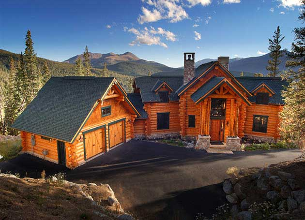 Log homes handcrafted timber frame builder cabins bc