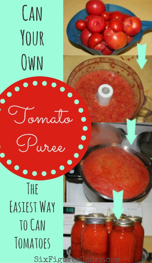 The Best Way to Can Tomatoes: Tomato Puree