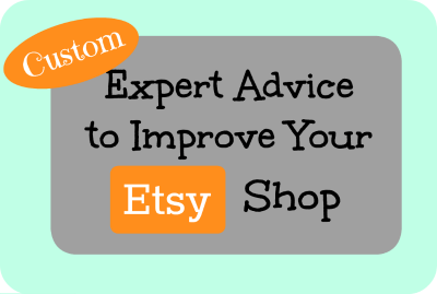 Custom Expert Advice to Improve Your Etsy Shop-- Fiverr Gig