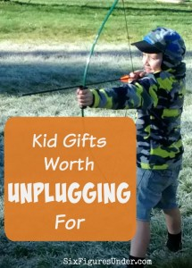 Kid Gifts Worth Unplugging For