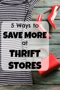 5 Ways to Save More at Thrift Stores