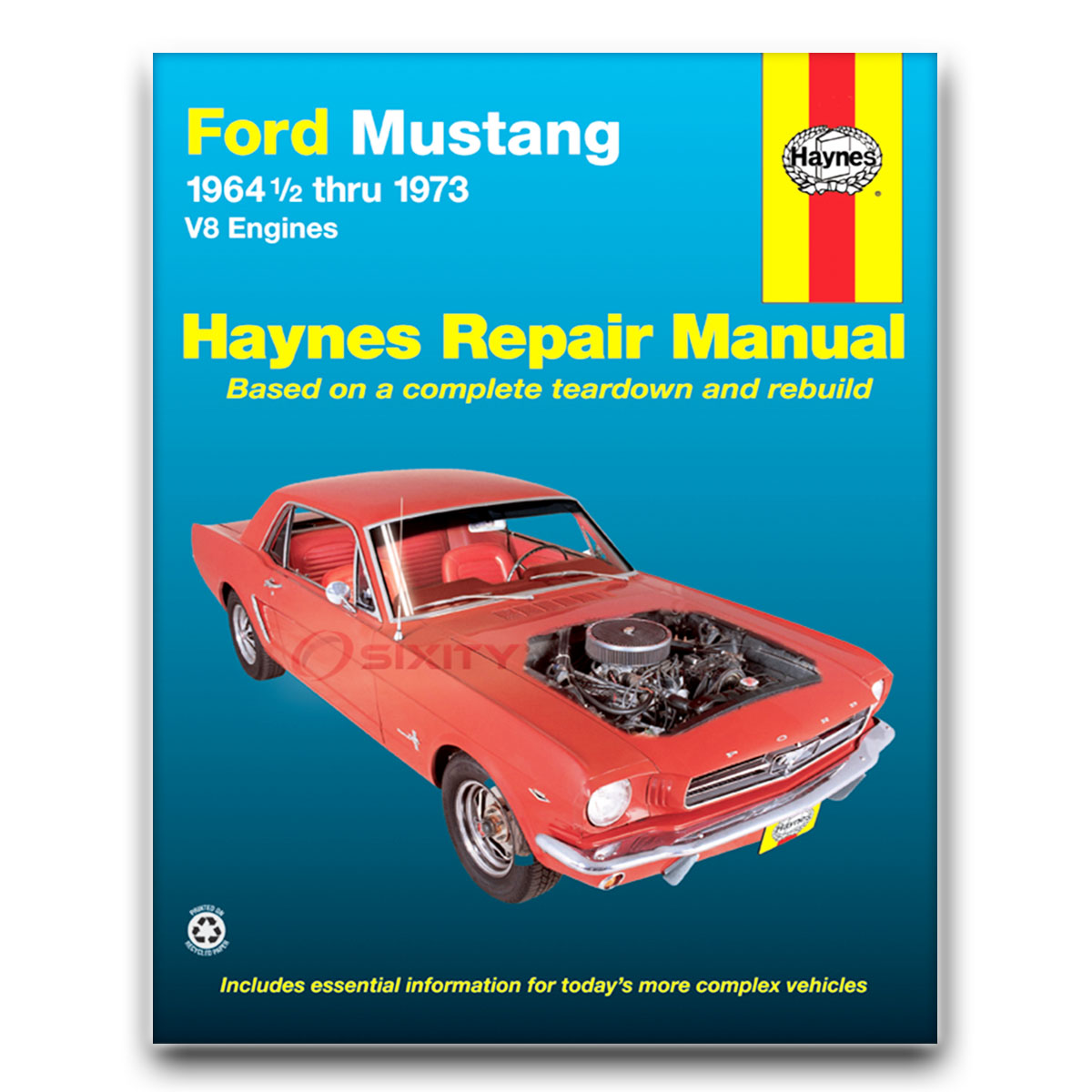 Ford Mustang V8 1964 1973 Service Repair Manual Auto Electrical Mtd Snowblower Wiring Diagram