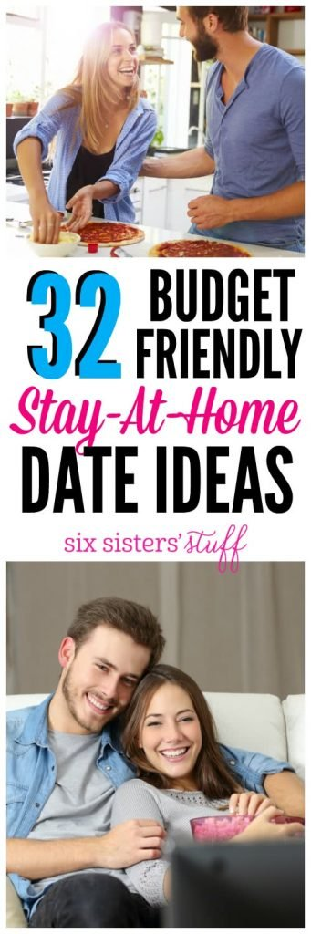 32 Stay-At-Home Date Ideas Six Sistersu0027 Stuff - at home date ideas