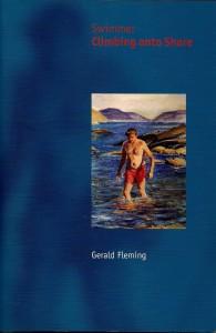 Gerald Fleming Swimmer Climbing onto Shore