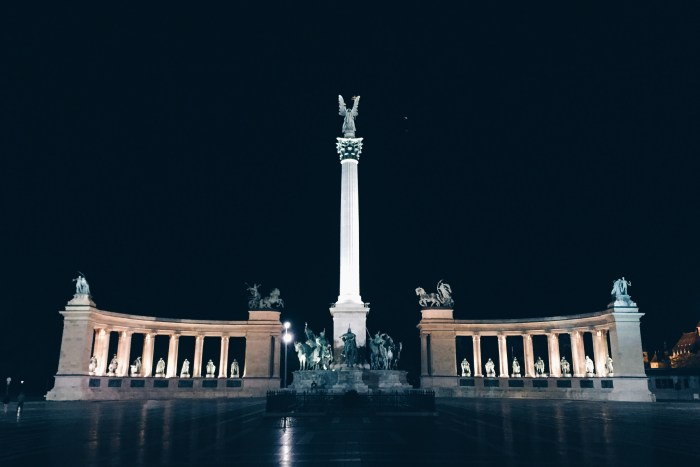 Hősök tere, Heroes' Square, Budapest