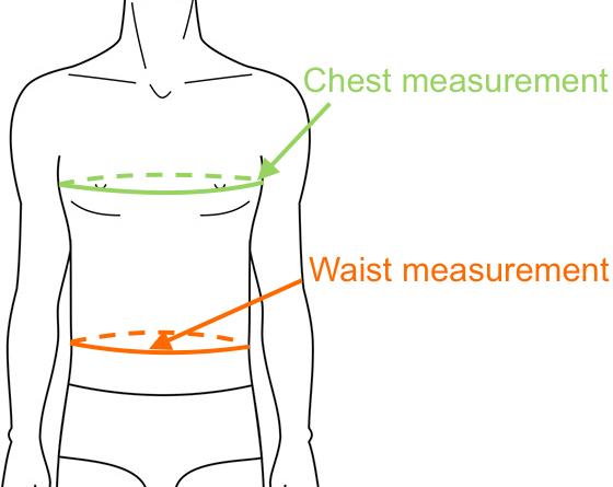 Men\u0027s Japanese Jacket Size Chart