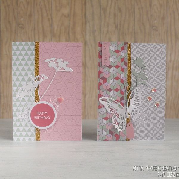 Using Dies for Card Making + Free Paper download Anna Draicchio