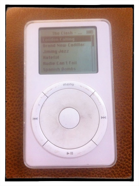original iPod from 2010