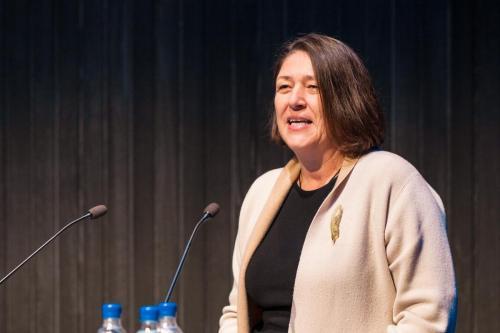 Violeta Bulc, framkvæmdastjóri samgöngumála hjá Evrópusambandinu
