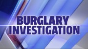 Burglary Investigation File Photo