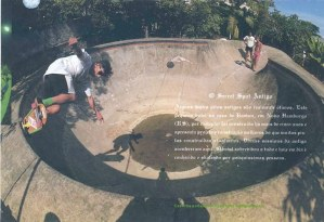 Cesar Chaves mostra Base no Ramon's Bowl - Foto revista Overall -