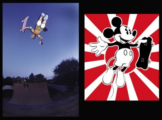 Christ air (foto J.B.Britain) e Mickey....