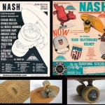 Propaganda da Sidewalk Nash Surfboards – 1965
