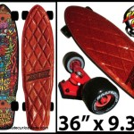 Santa Cruz skateboard Flake – 2011